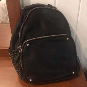 Backpack-fake leather